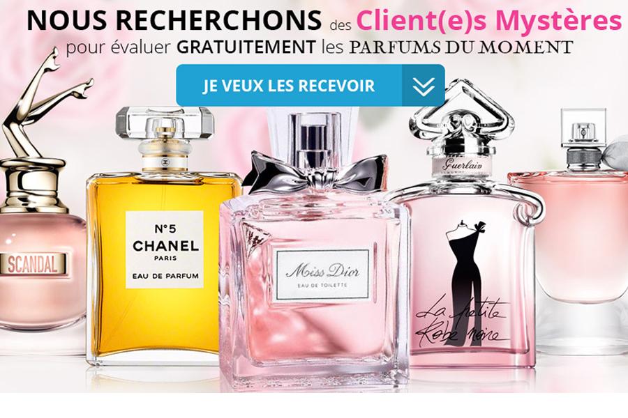 Client mystère parfum