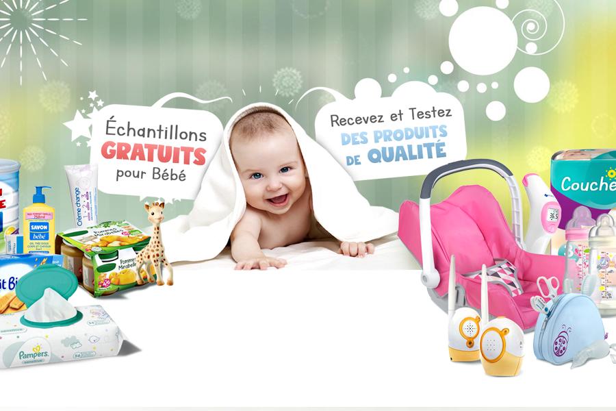 Echantillons bébé gratuit