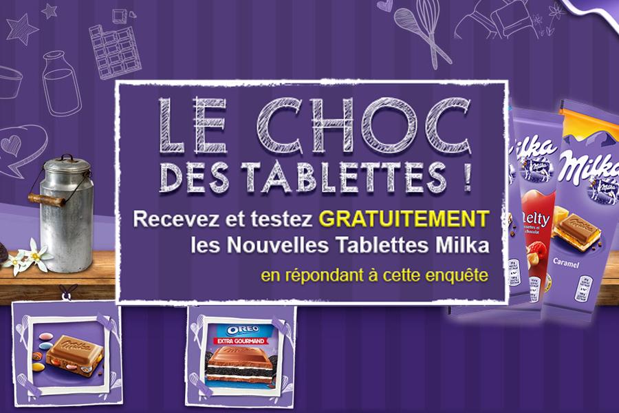 Echantillon Gratuit Chocolat Milka