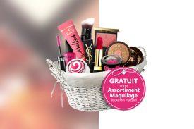 Echantillon maquillage gratuit
