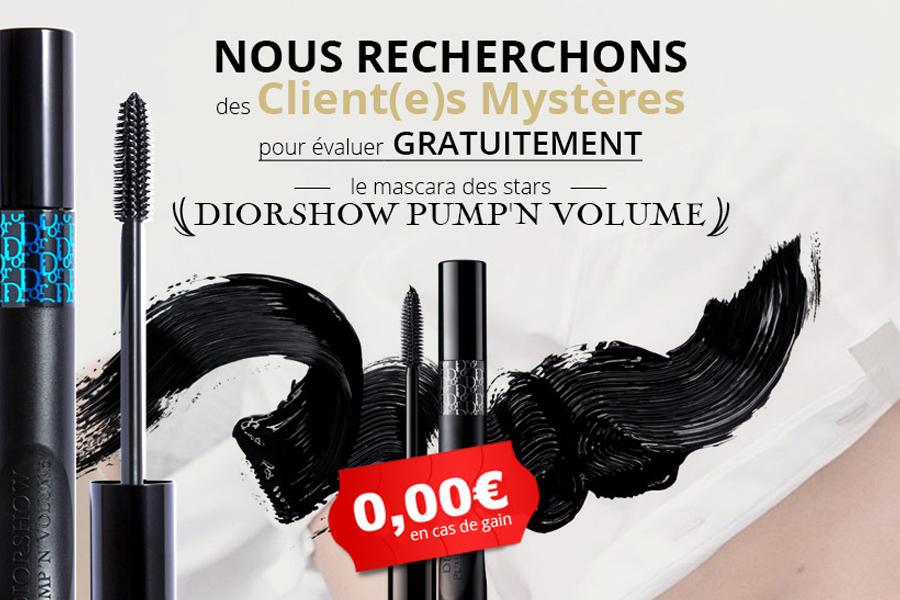 Échantillon Mascara Dior