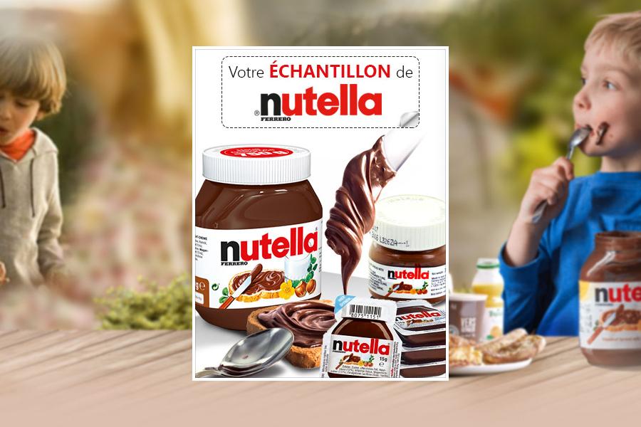 Echantillon Nutella Gratuit