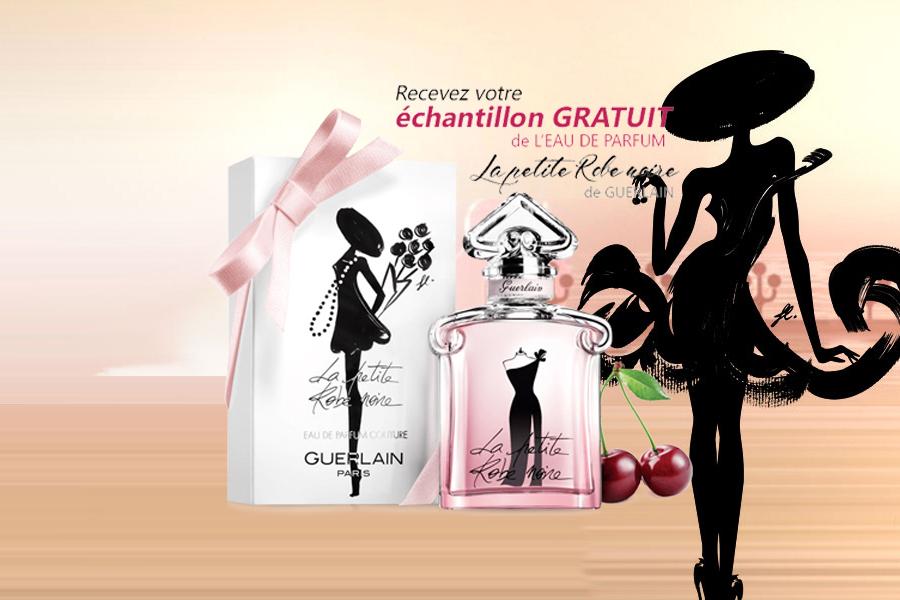 Echantillon gratuit, la petite robe noire de Guerlain