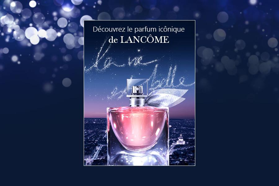 Echantillon de parfum Lancome Gratuit