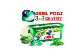 Lessive Ariel PODS Gratuite