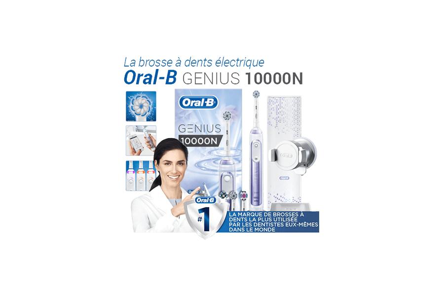 Brosse à dent Oral B Gratuite