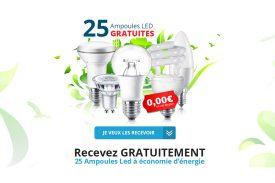 Opération 25 Ampoules LED Gratuites