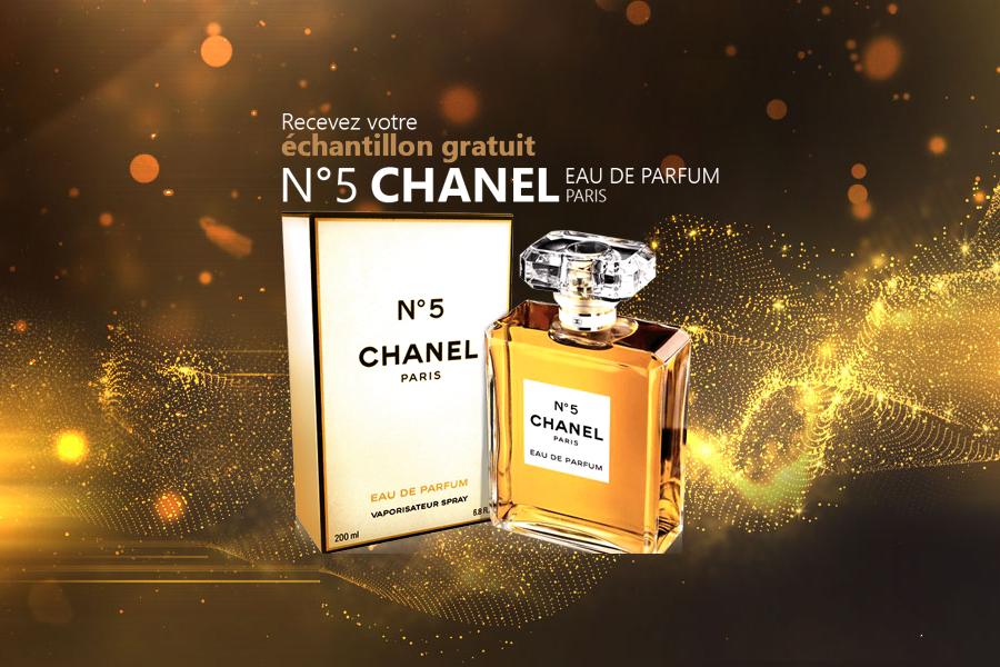 Échantillon gratuit de parfum Chanel Numéro 5