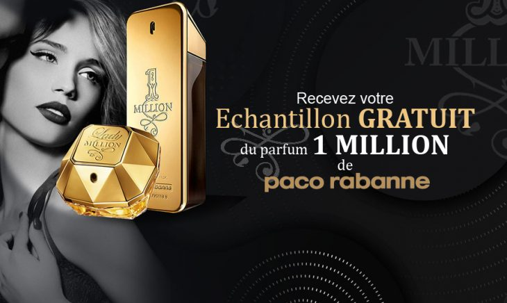 Echantillon Parfum 1 Million Paco Rabanne