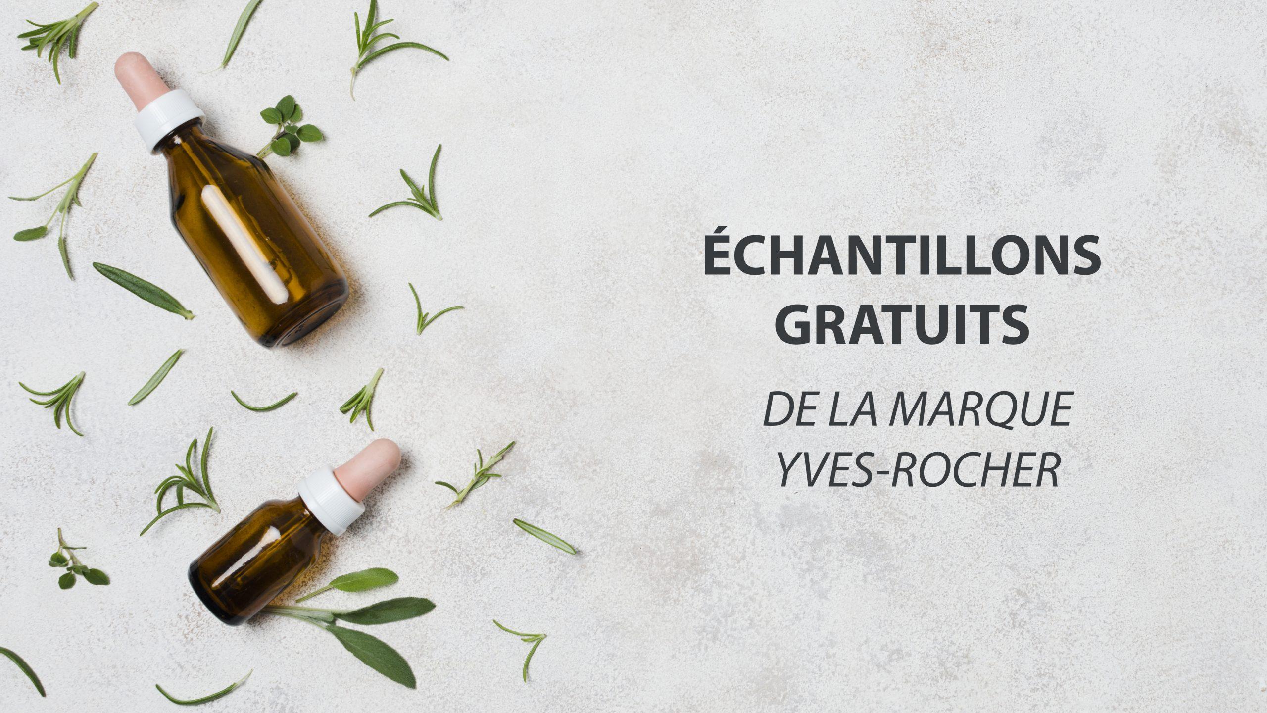 Échantillons Gratuits Yves Rocher